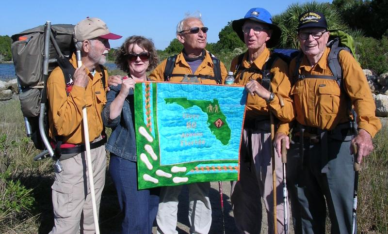 Over 80 Across Florida Hike