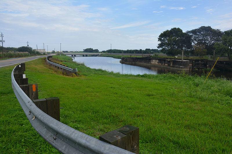 Miami Canal at Lake Harbor