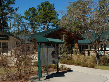 Lake George Ranger Station, Ocala National Forest