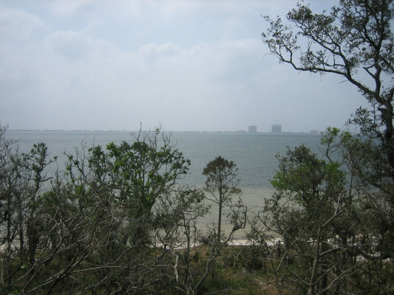 Santa Rosa Sound from Naval Live Oaks