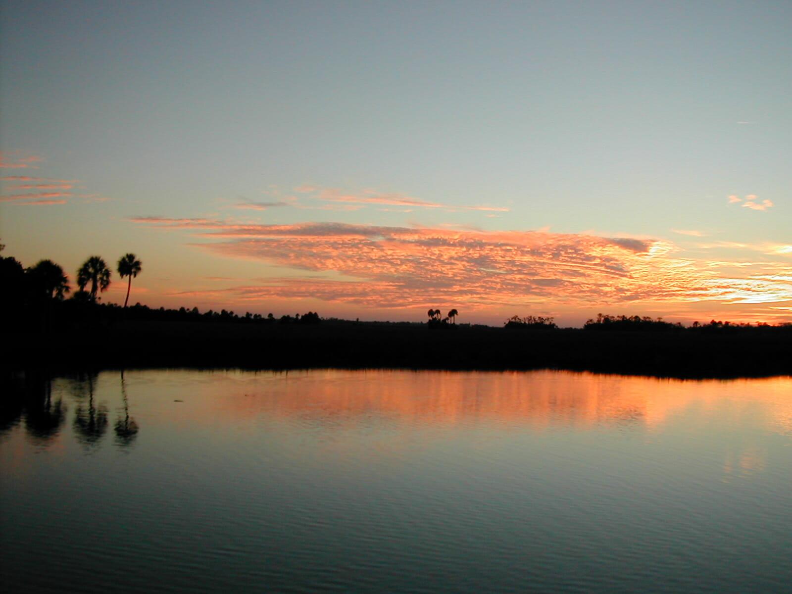 Sunset at Hernando Beach