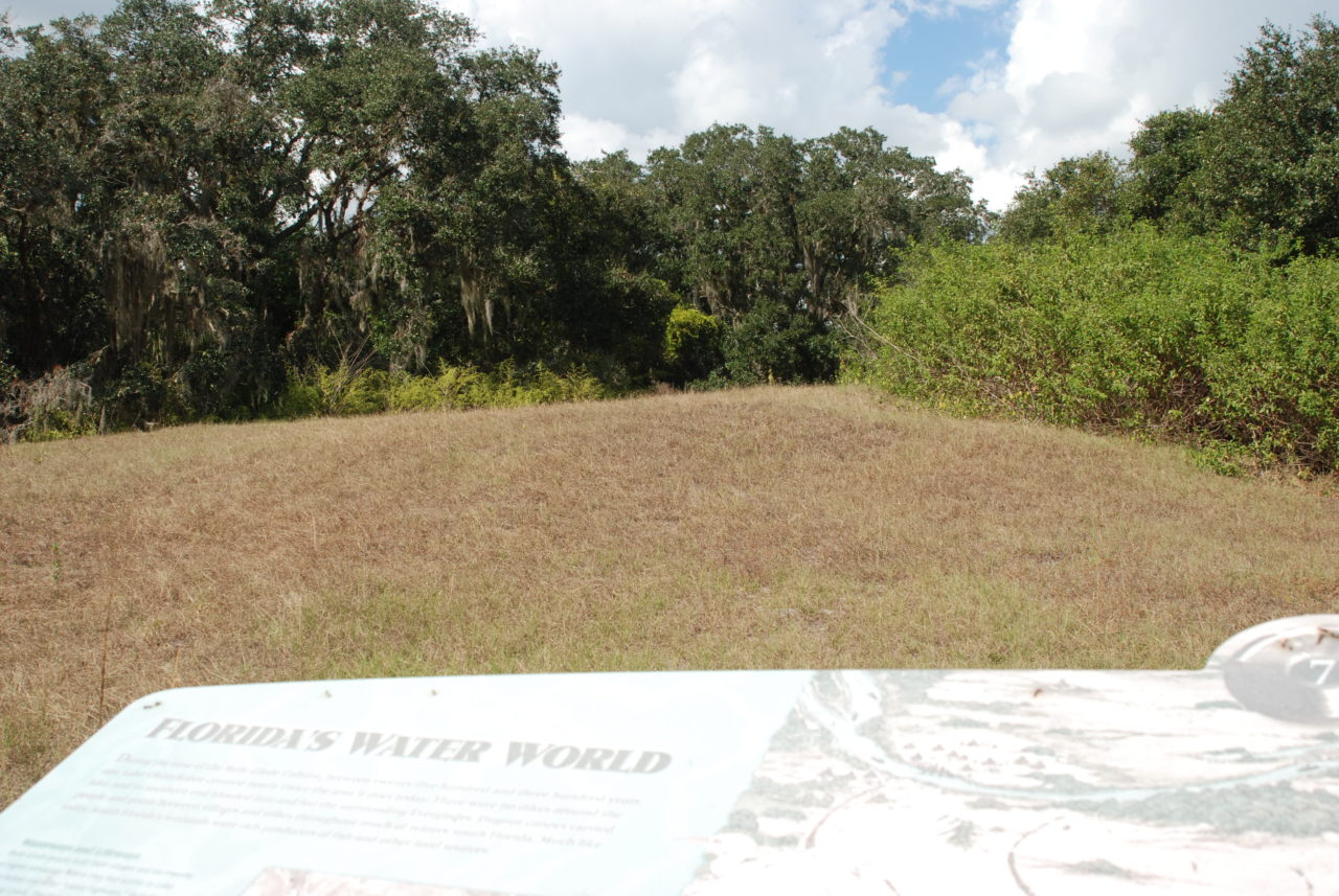Burial mound at Fort Center