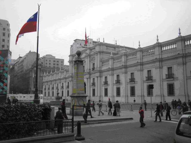 Presidential palace, Santiago, Chile