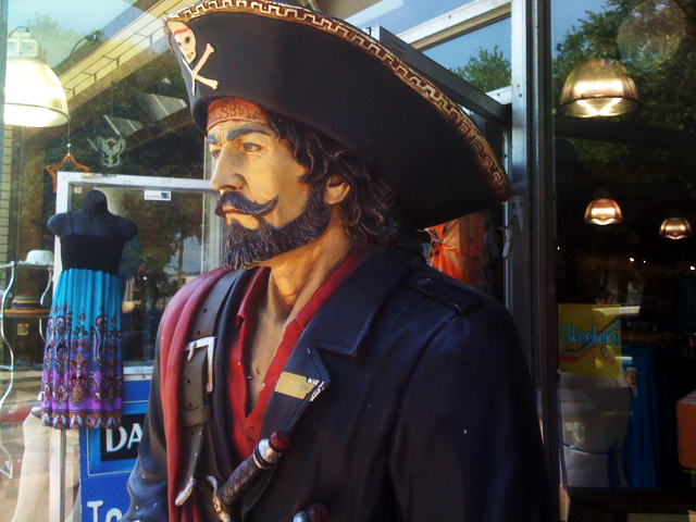 There be pirates in St. Augustine!