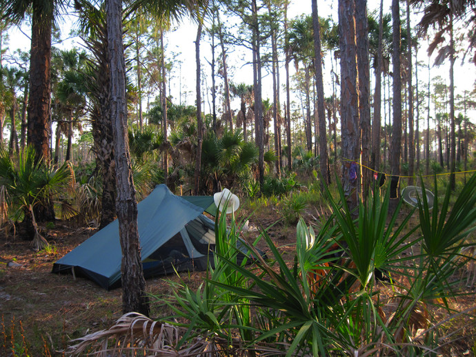 How To Tent Camp In Florida Florida Hikes
