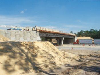 Land Bridge under construction