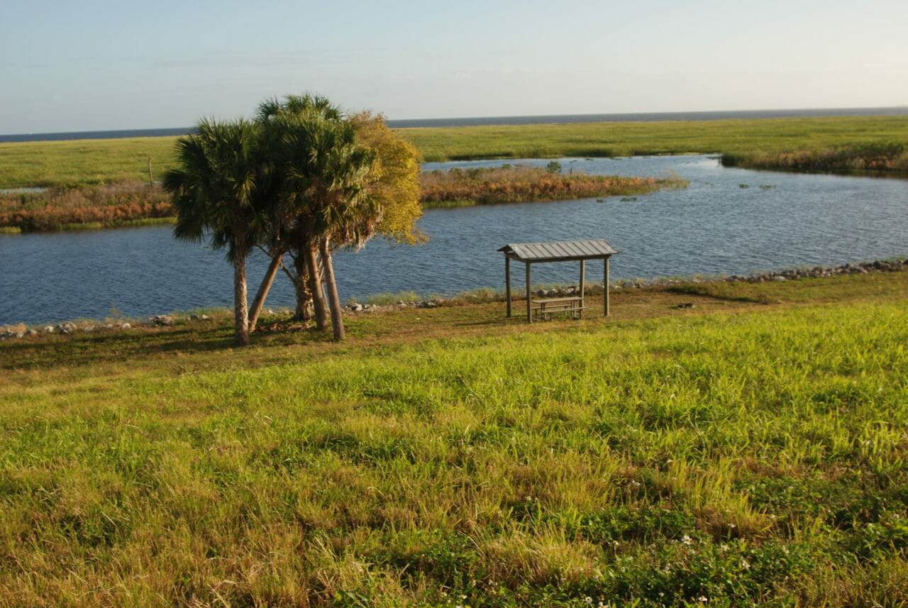 Florida Trail Clewiston rest stop