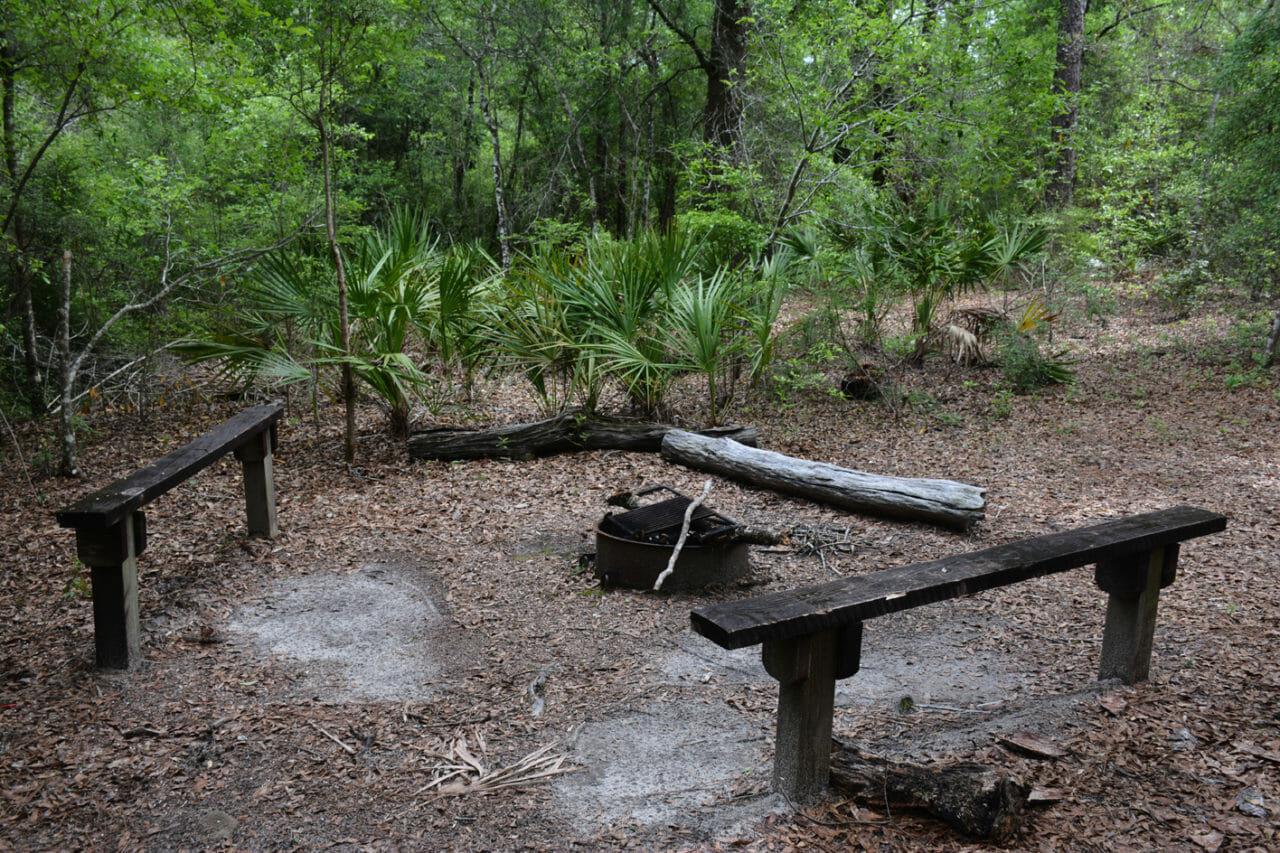 Pearl campsite Eglin