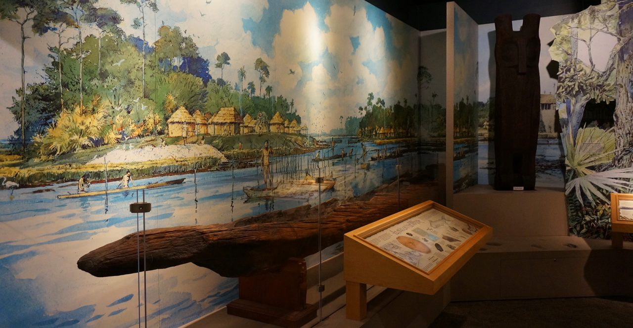 Fort Caroline exhibits