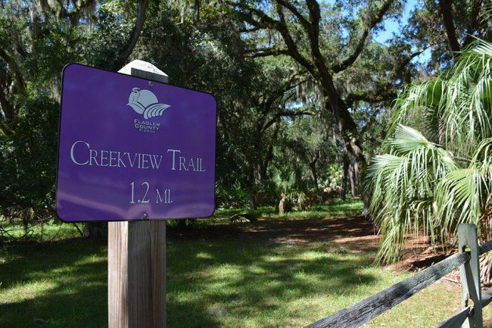 Start of Creekside Trail