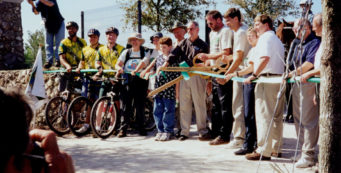 Land Bridge ribbon cutting