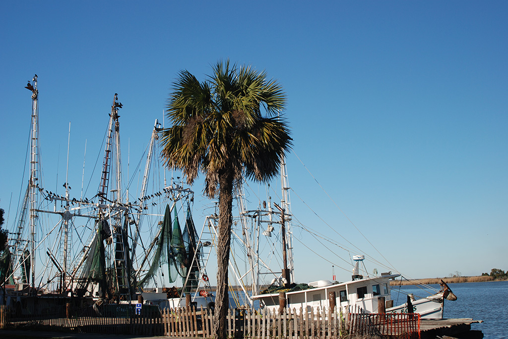 Apalachicola waterfront