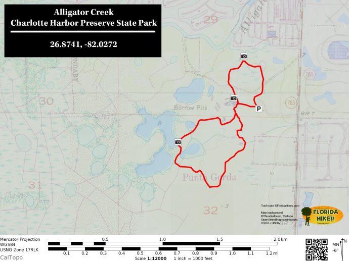 Alligator Creek Florida Hikes