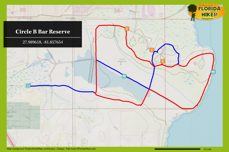 Circle B Bar Reserve Florida Hikes