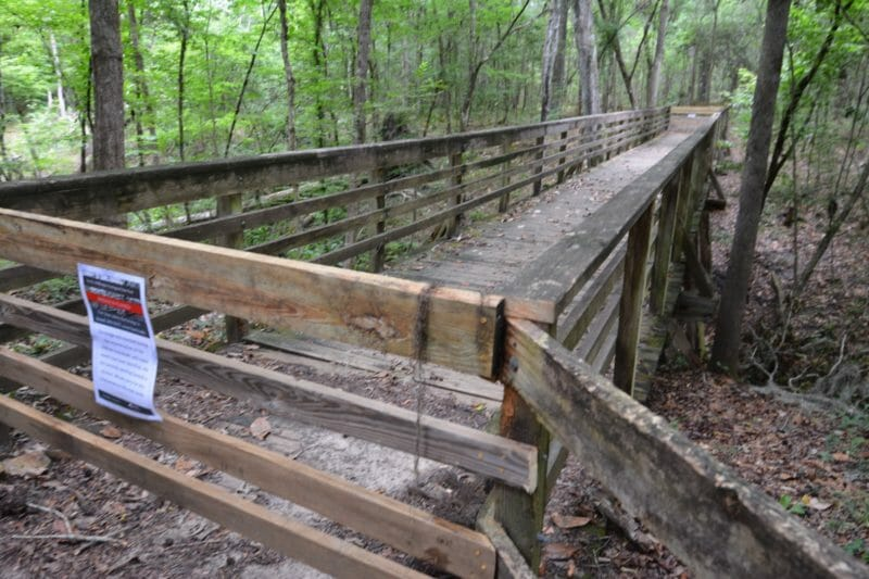 Devils Millhopper bridge