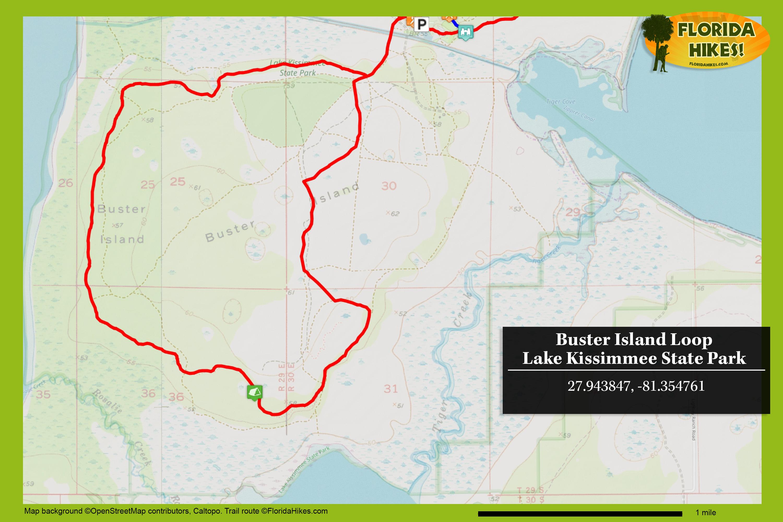 Buster Island Loop Florida Hikes