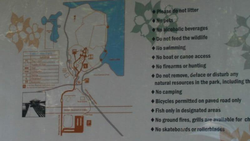 Lake Lotus Park map