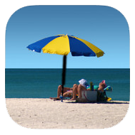 Florida's Beaches app icon