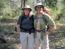 Couples and backpacking