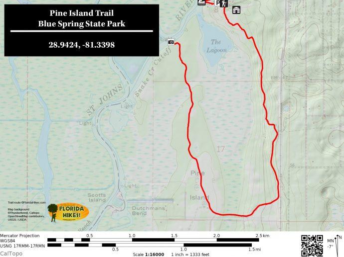 Pine Island Trail | Florida Hikes!