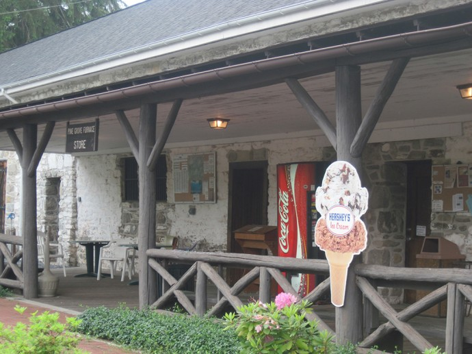 General store at Pine Grove Furnace State Park