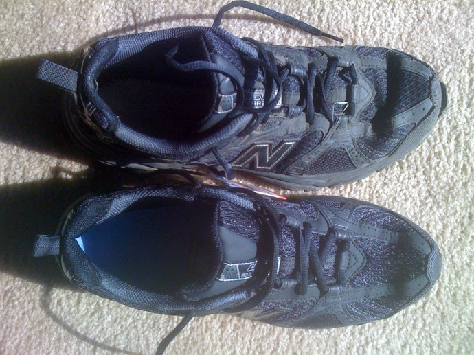 My trail shoes
