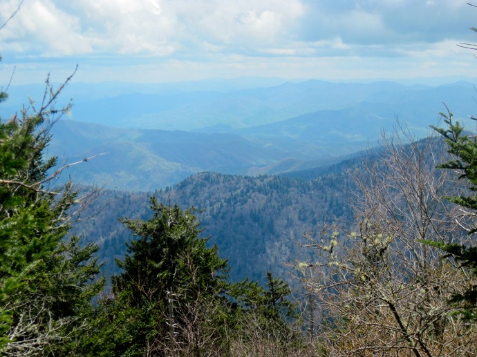 Mountains near Newfound Gap
