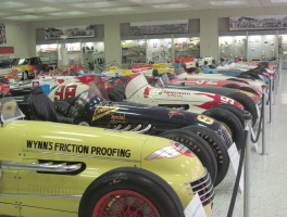 Cars galore at Indianapolis Motor Speedway