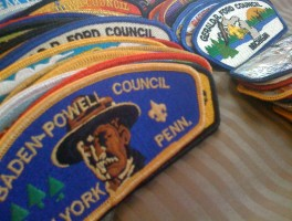 Collecting Boy Scout Council Shoulder Patches