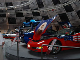 Visiting the National Corvette Museum