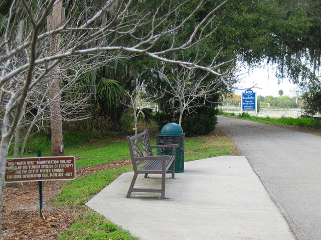 Winter Springs juxtaposition: new park, new subdivision