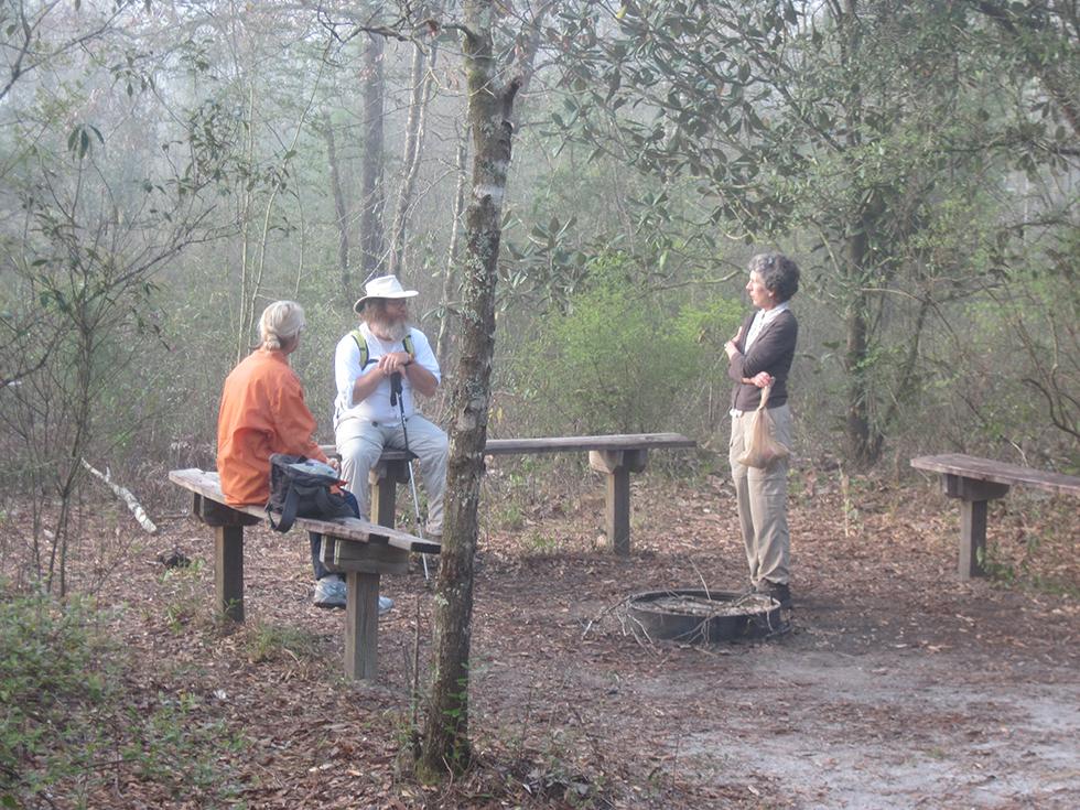 Juniper Creek shelter area