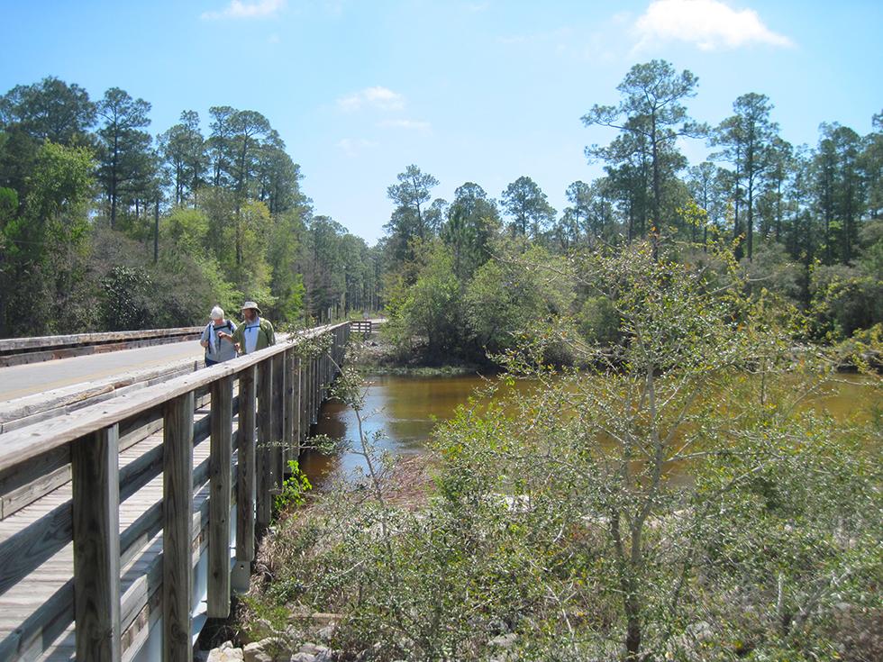 Crossing Deaton Bridge