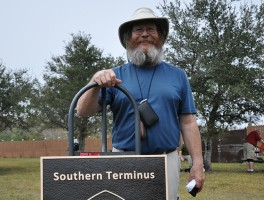 New Florida National Scenic Trail terminus dedicated