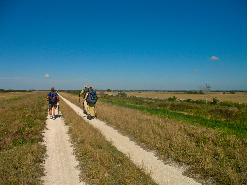 Florida Trail north of Okee-tantie