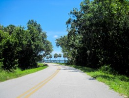 Biking Indian River Drive