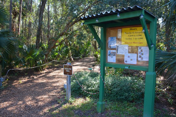 Primary trailhead at Trout Lake