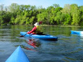 Kayaking Branson