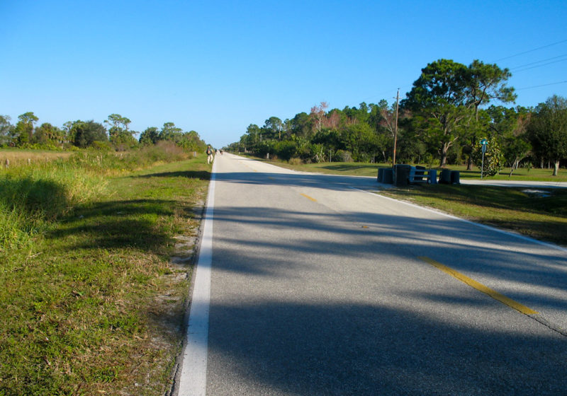 NW 128th Ave roadwalk Okeechobee