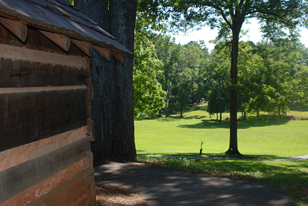 The Stockade Fort replica at Ninety Six