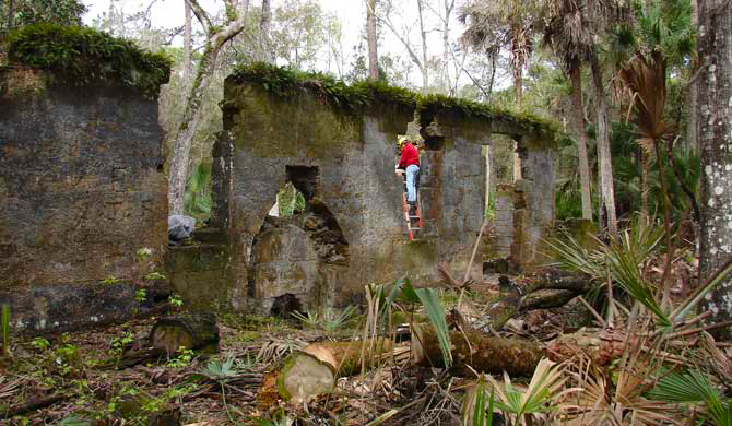 Addison Blockhouse Historic State Park Florida Hikes