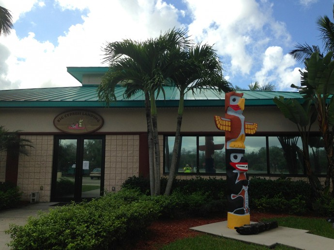 Big Cypress Landing, a nice resupply and meal stop