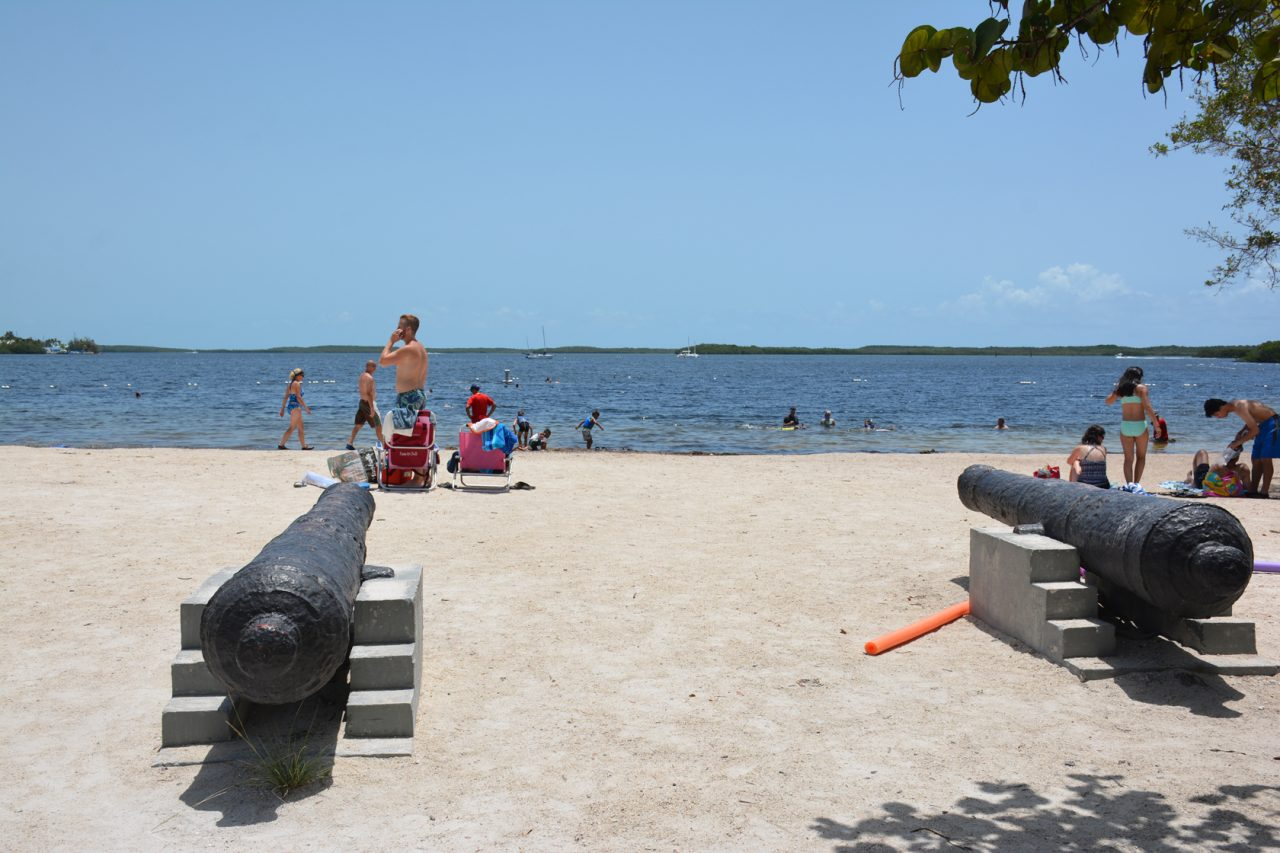 Beachfront at John Pennekamp Coral Reef State Park