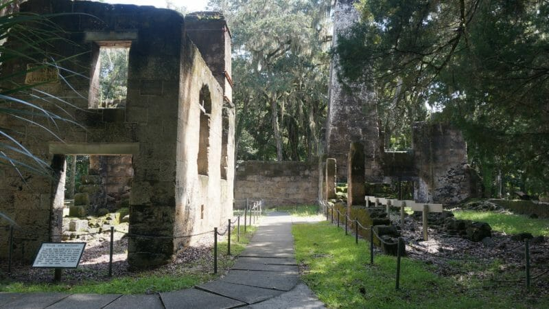 Bulow Plantation Ruins interpretive walk