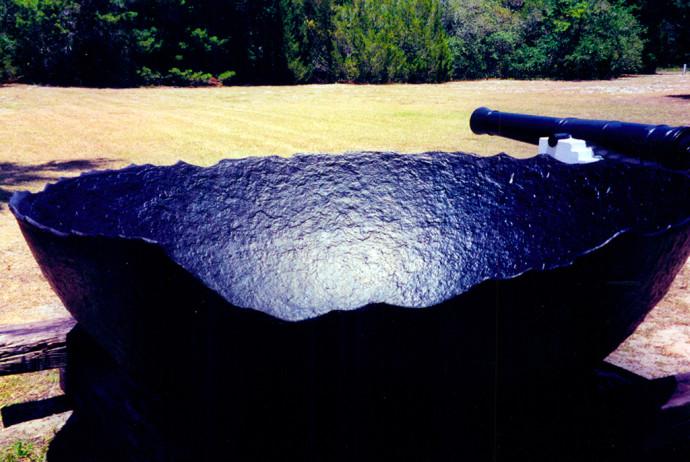 Salt boiler and cannon