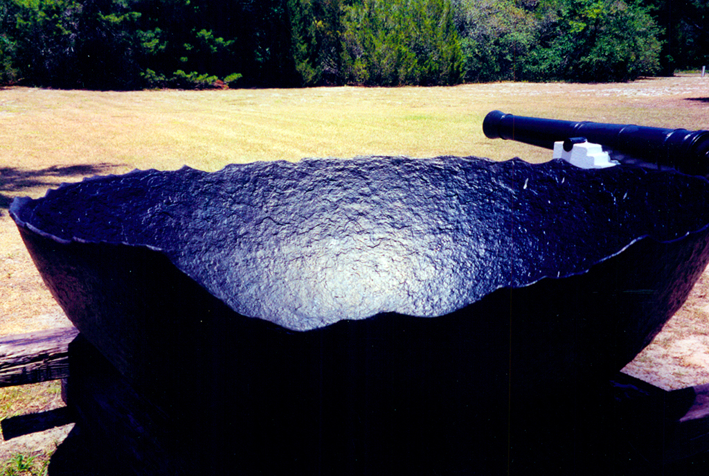 Salt boiler and cannon