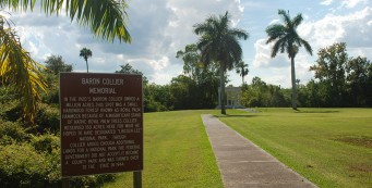 Collier Memorial at Collier-Seminole State Park