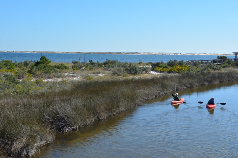 Kayakers at Big Lagoon