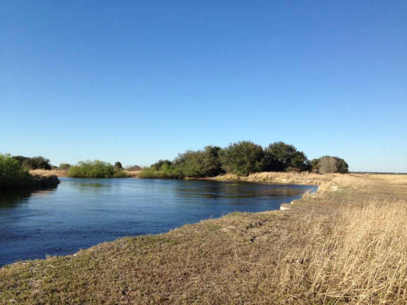 Kissimmee River north of No Name Slough