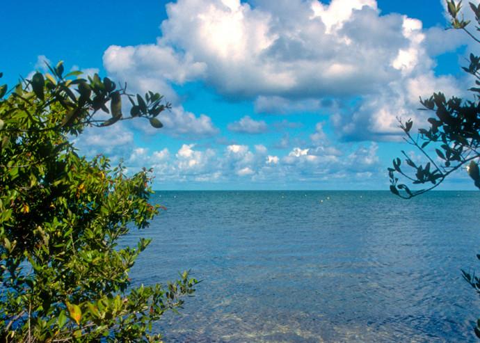 Florida Bay at Long Key State Park